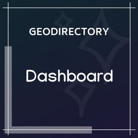 GeoDirectory Dashboard 0.0.1