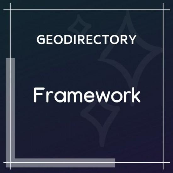 GeoDirectory Framework 2.0.0.6