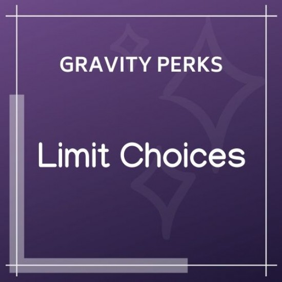 Gravity Perks Limit Choices