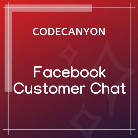 Facebook Customer Chat for WordPress 2.7