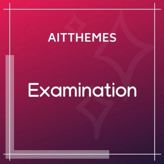 Examination WordPress Theme