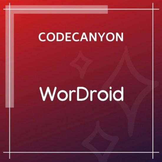 WorDroid Full Native WordPress Blog App