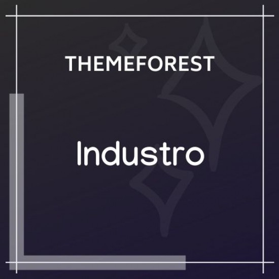 Industro Industry Factory WordPress Theme