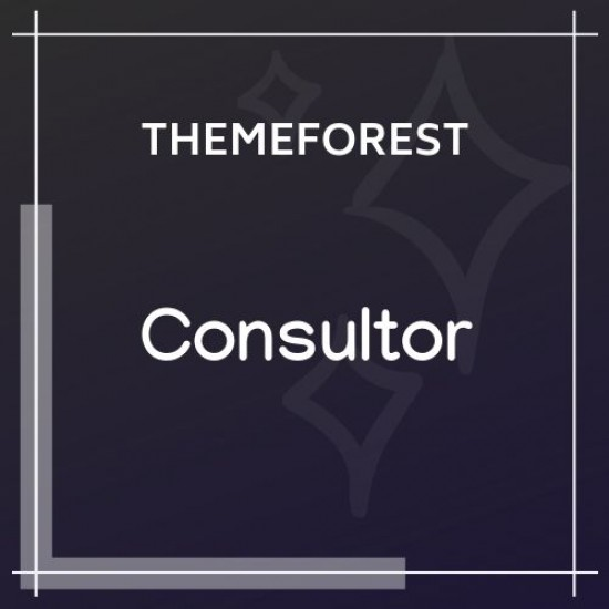 Consultor | A Business Financial Advisor WordPress Theme