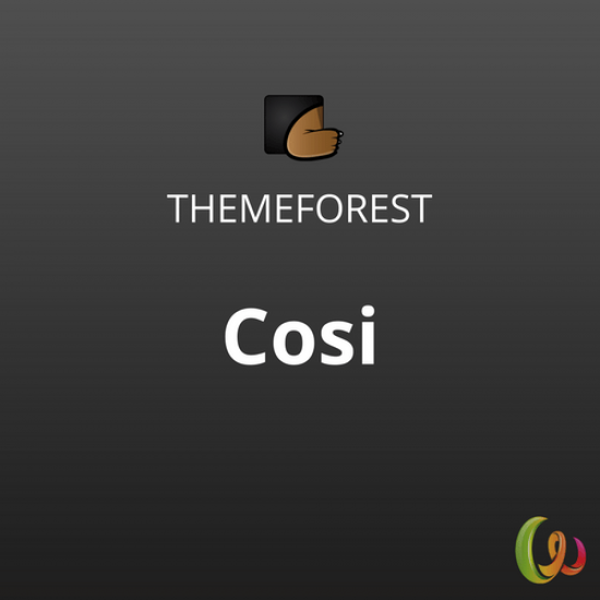 Cosi Multipurpose WooCommerce WordPress Theme