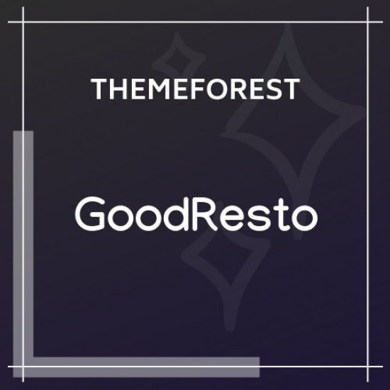 GoodResto Restaurant WordPress Theme