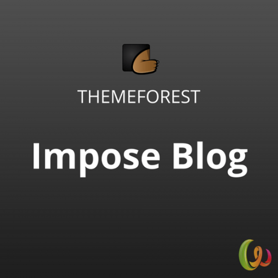 Impose Blog A WordPress Blog Theme 1.0.9