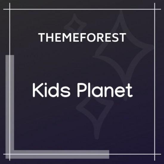 Kids Planet A Multipurpose Children WP Theme 2.2.3
