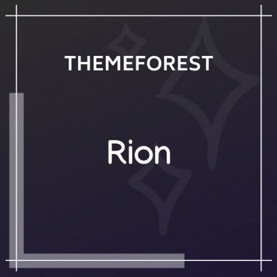 Rion Fashion WordPress Theme for WooCommerce 1.0.0