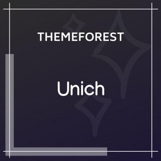 Unich Infinite Scroll Blogging Food Recipes Theme 1.4