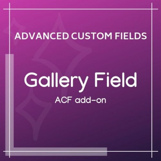 Gallery Field Add-on for ACF 1.1.1