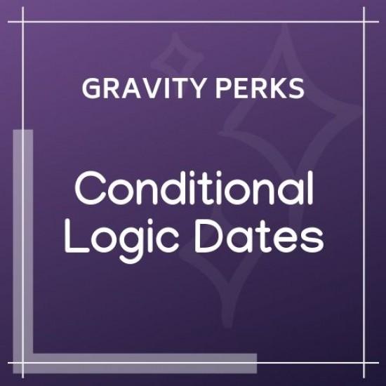 Gravity Perks Conditional Logic Dates