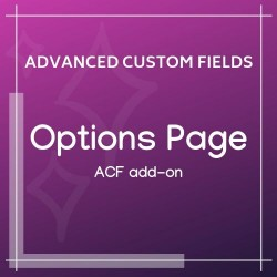 Options Page Add-on for ACF 1.2