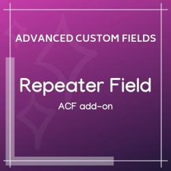 Repeater Field Add-on for ACF 1.1.1