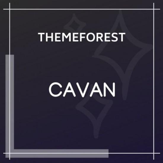 CAVAN A Distinctive WordPress Blog Theme