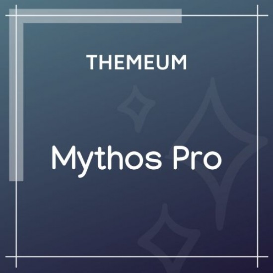 Mythos Pro Wordpress Theme