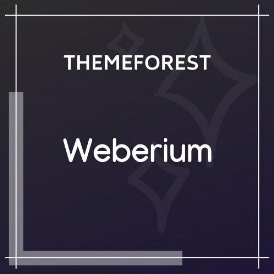 Weberium Responsive Theme Tailored for Digital Agencies