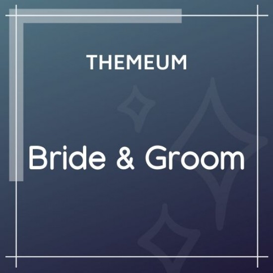 Bride Groom Theme