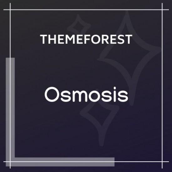 Osmosis Responsive Multi-Purpose WordPress Theme
