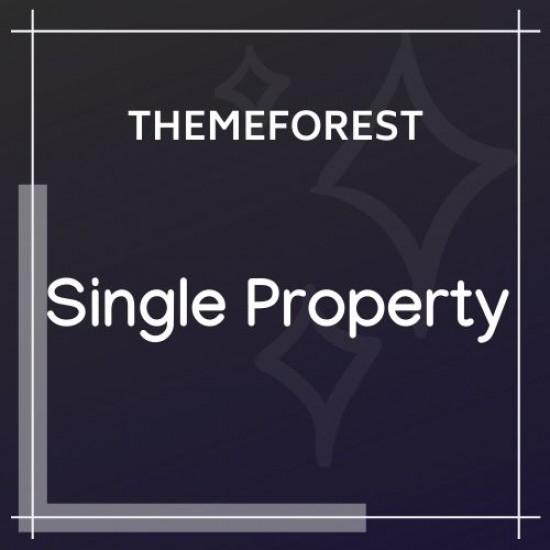 Single Property Theme 1.5