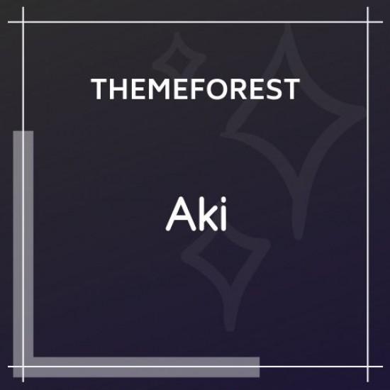 Aki Multipurpose Kids WordPress Theme