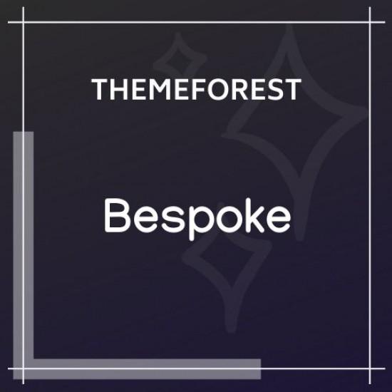 Bespoke Onepage Creative WordPress Theme
