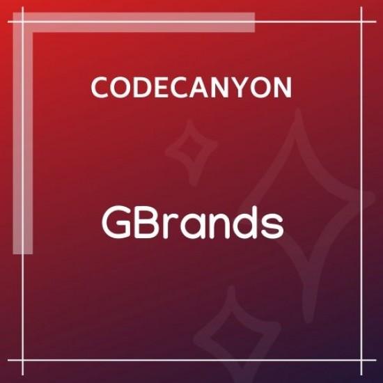 GBrands WooCommerce Gutenberg Brands Block 1.0