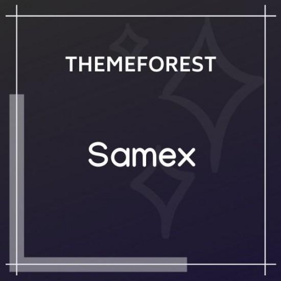 Samex Clean, Minimal Shop WooCommerce Theme 1.3