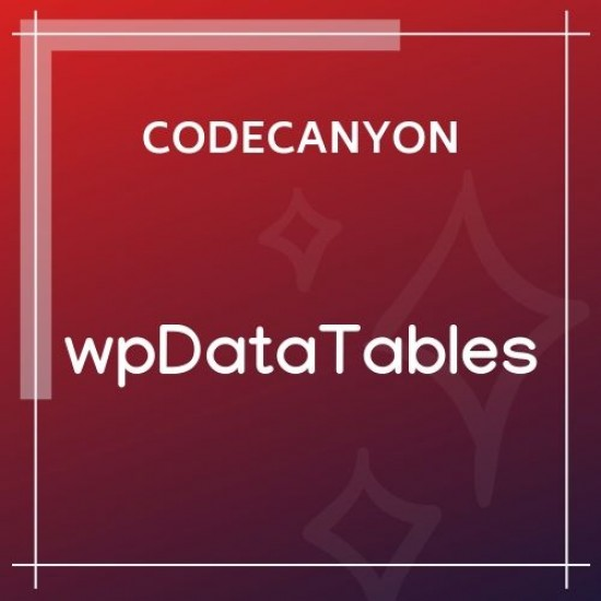 wpDataTables Tables and Charts Manager