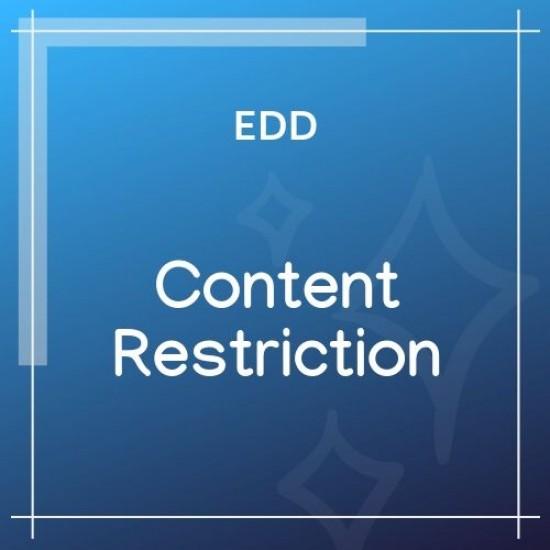 Easy Digital Downloads Content Restriction 2.3