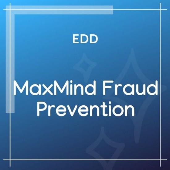 Easy Digital Downloads MaxMind Fraud Prevention 1.1