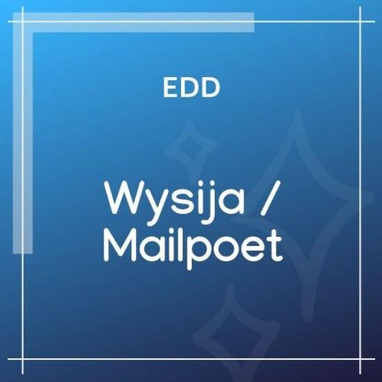 Easy Digital Downloads Wysija / Mailpoet 1.4.1
