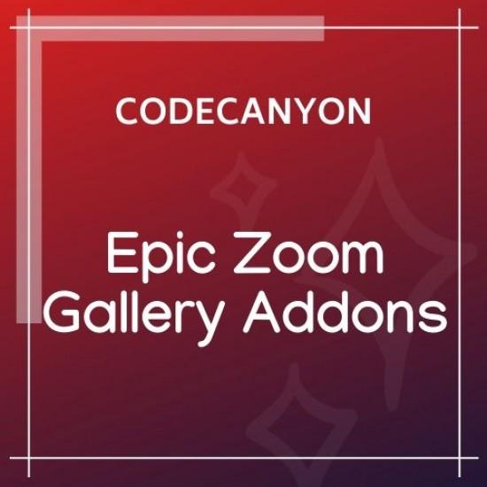 Epic Zoom Gallery WordPress Plugin 0.0.1
