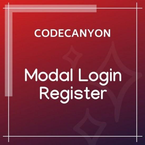 Modal Login Register Forgotten WordPress Plugin 2.0.5