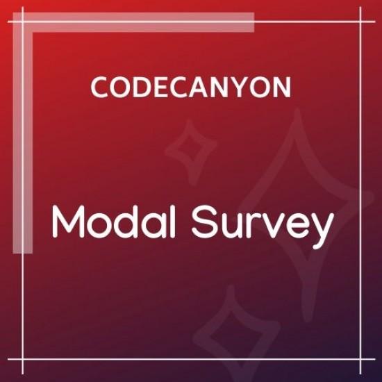 Modal Survey WordPress Poll, Survey Quiz Plugin