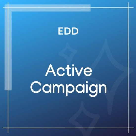 Easy Digital Downloads ActiveCampaign 1.1.1