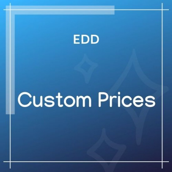 Easy Digital Downloads Custom Prices 1.5.5