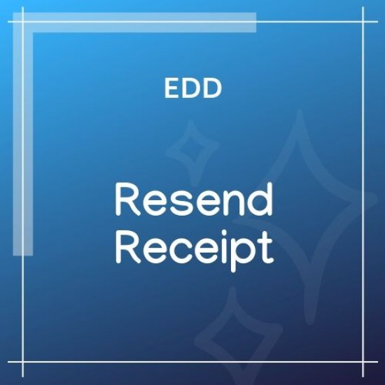 Easy Digital Downloads Resend Receipt 1.0.1
