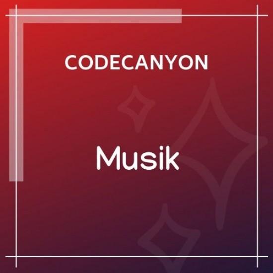 Musik WordPress Admin Theme 1.1.1