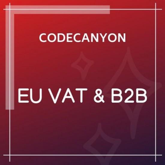 WooCommerce EU VAT & B2B