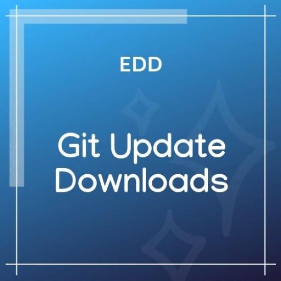 Easy Digital Downloads Git Update Downloads 1.1.1