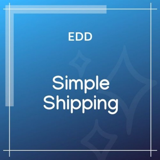 Easy Digital Downloads Simple Shipping 2.3.8