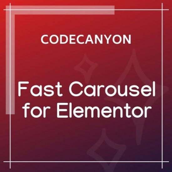 Fast Carousel for Elementor WordPress Plugin 1.0