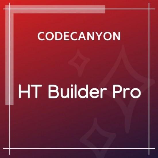 HT Builder Pro WordPress Theme Builder for Elementor