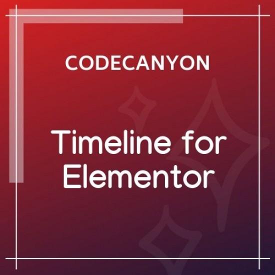 Timeline for Elementor WordPress Plugin