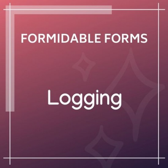 Formidable Forms Logging Add-On 1.0b1