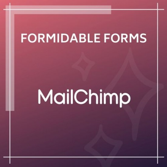 Formidable Forms MailChimp Add-On