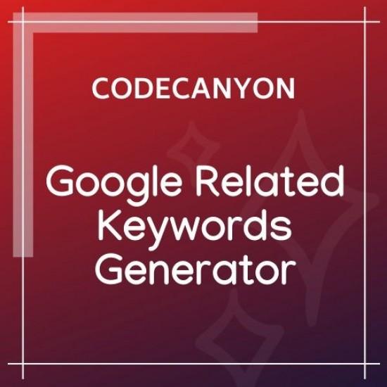 Google Related Keywords Generator 1.1.0