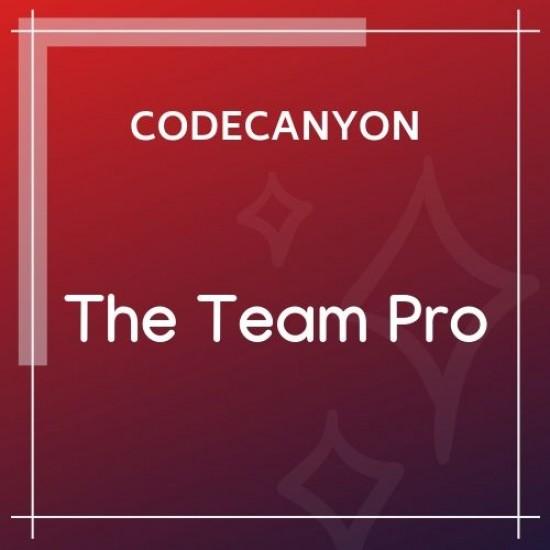 The Team Pro Team Showcase WordPress Plugin