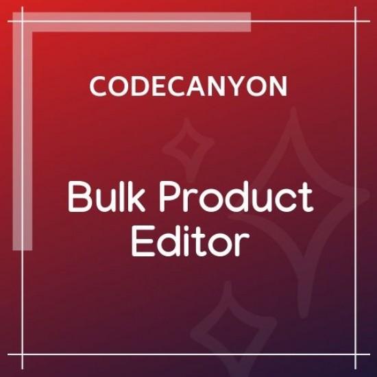 WooCommerce Bulk Product Editor 2.7